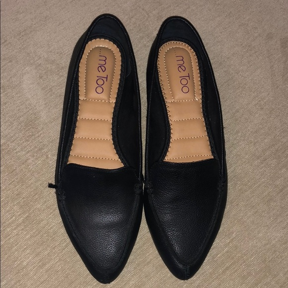 me too Shoes - Black pointy flats